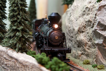 a model train locomotive